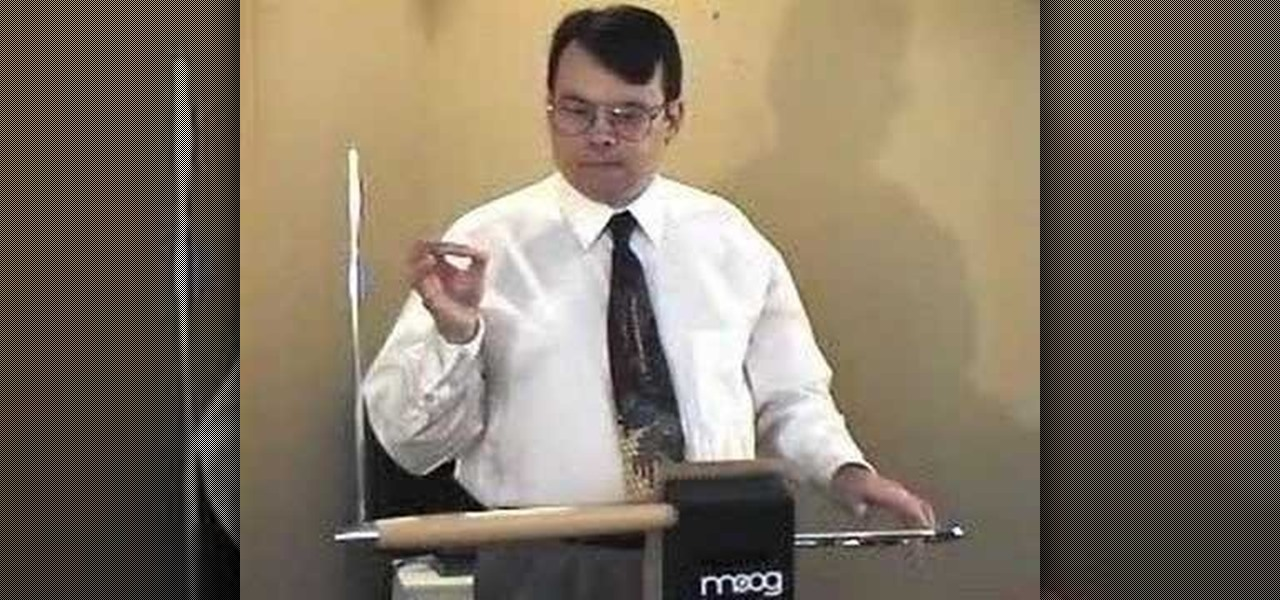 How to Play the theremin for beginners « Other Instruments