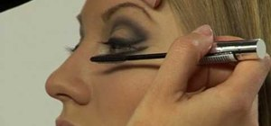 Create Versace Winter 2007 runway makeup & hair