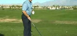 Load the right side to create power in golf swings
