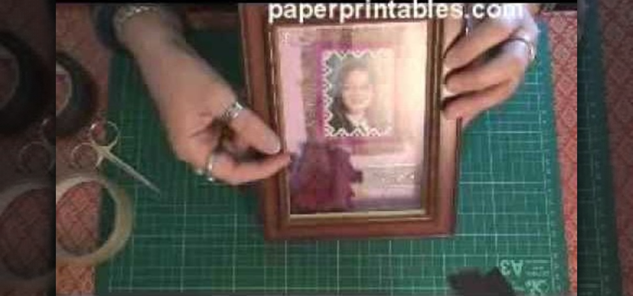 How To Make A Shadow Box Frame Papercraft Wonderhowto