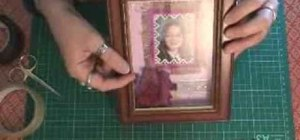 Make a shadow box frame