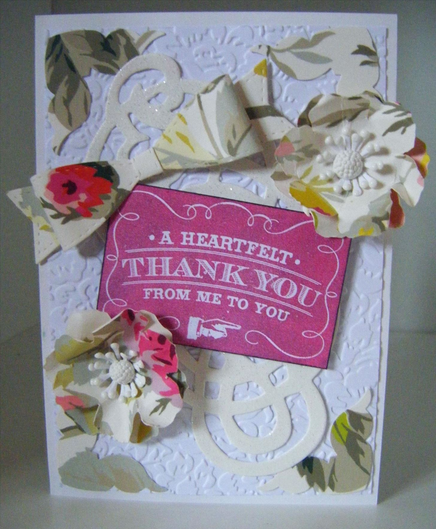 How to Make a Grace Floral Thank You Card