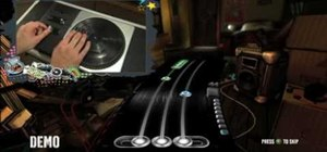 Play DJ Hero using advanced directional scratches