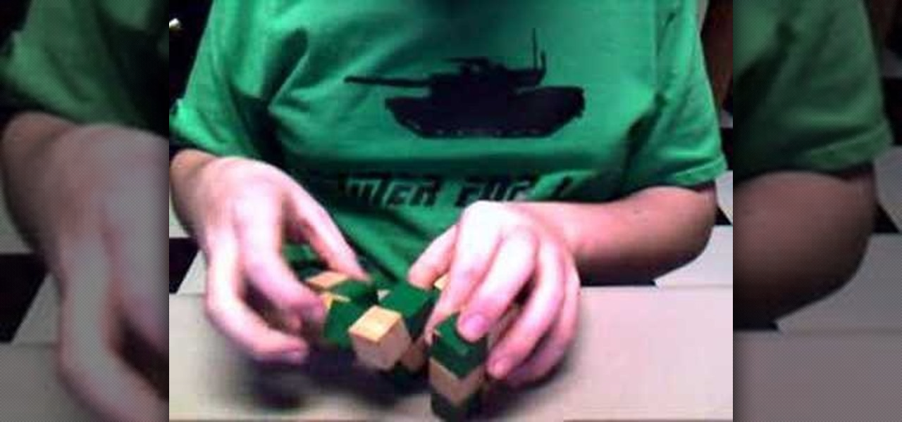 magic snake cube instruction book