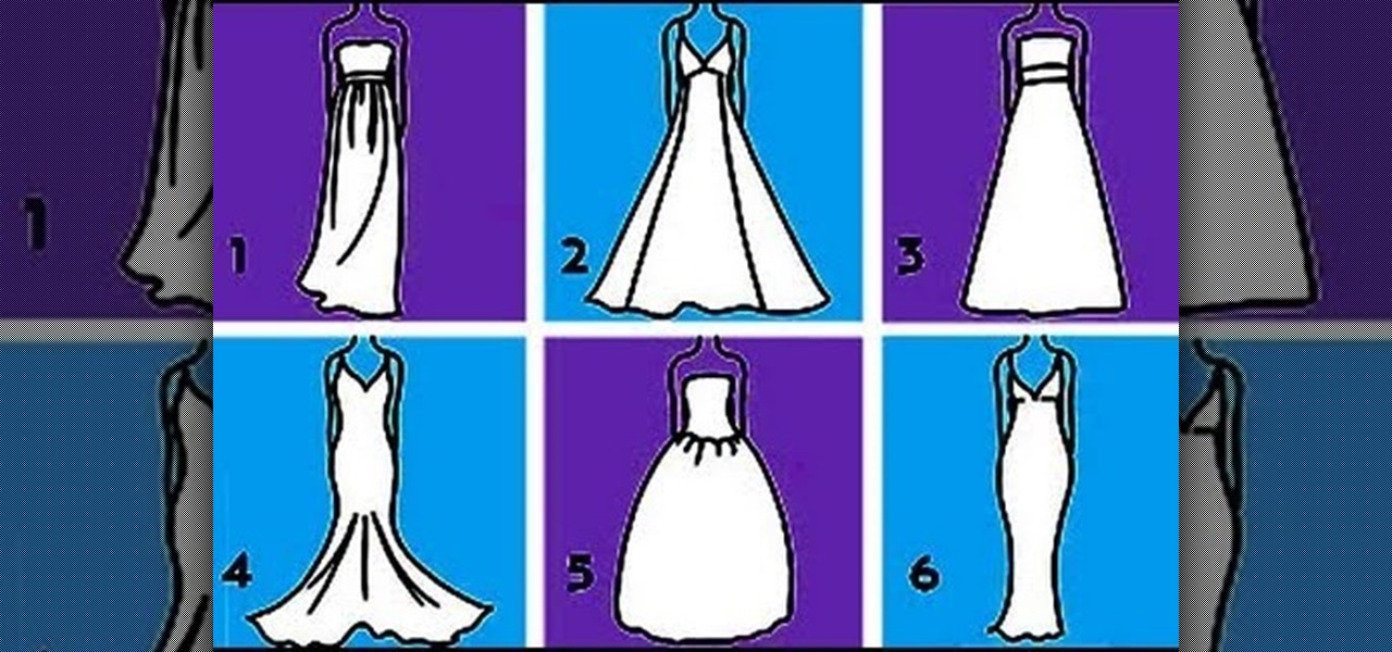 How to choose a wedding dress that flatters your body for How to choose a wedding dress