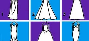 Choose a wedding dress that flatters your body shape