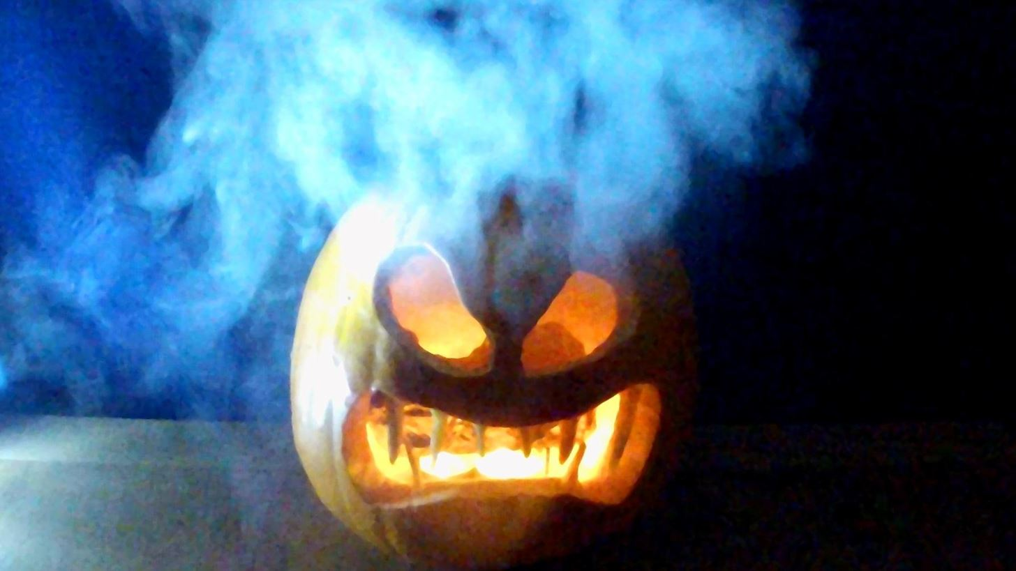 How to Make a Smoking Pumpkin for Halloween