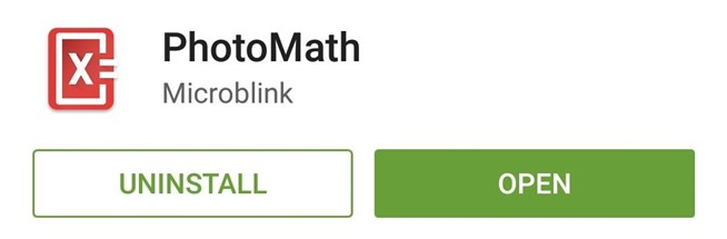 Solve Difficult Math Problems using Android Camera - PhotoMath 1