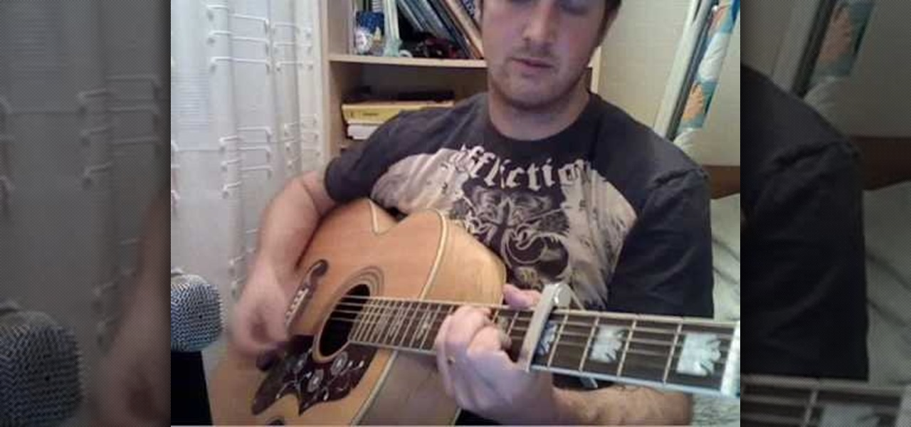 How To Play Radiohead Creep On Acoustic Guitar Acoustic Guitar