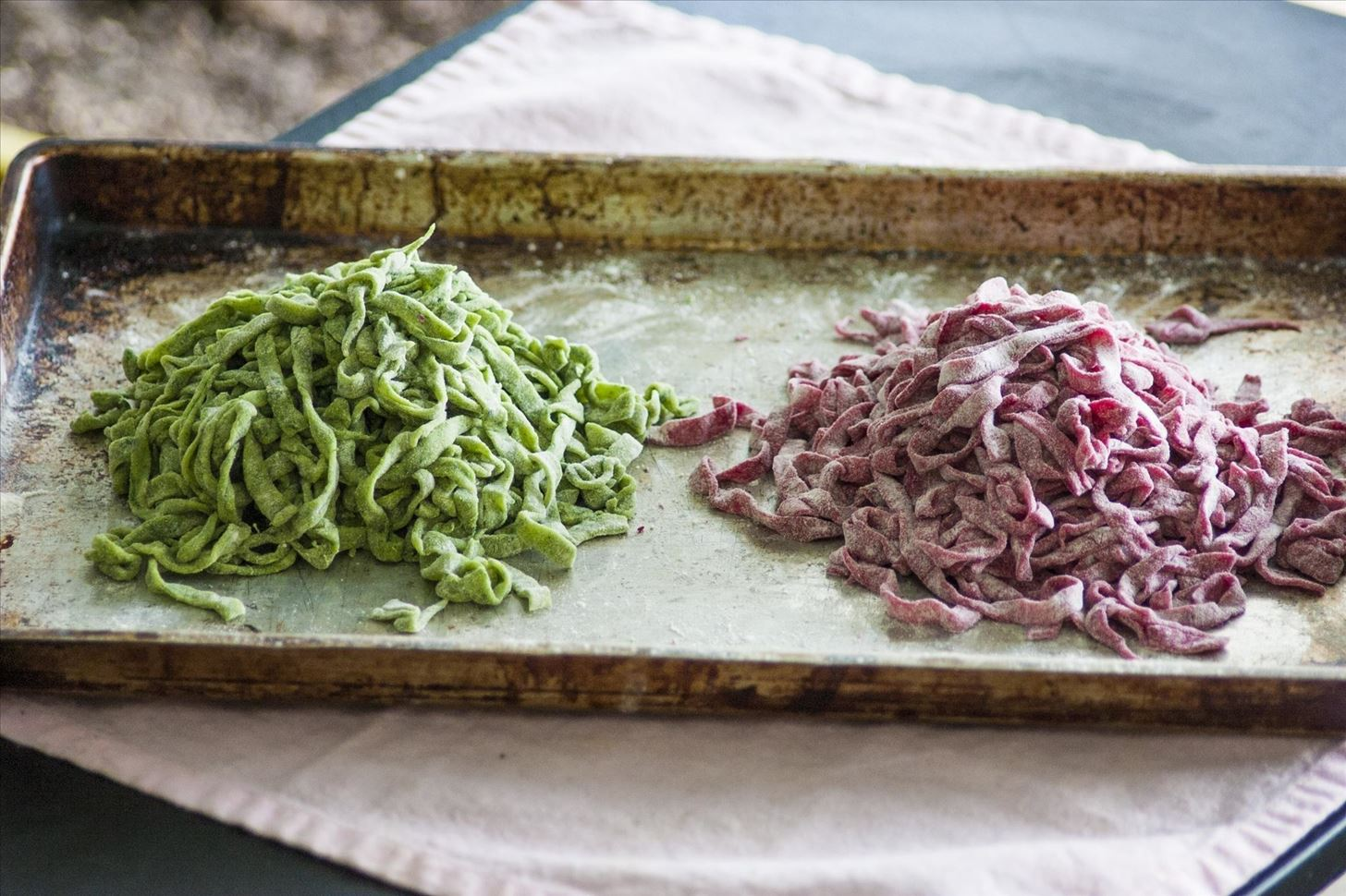 How to Make Naturally Colored Pasta with Beets, Spinach, Squid Ink, & More