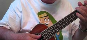 Fingerpick when playing the ukulele