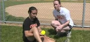 Improve softball pitching with a wrist snap drill