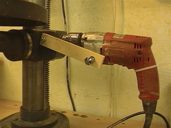 How to Inject Your Drill Press Table Crank with Steroids