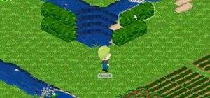 Build a waterfall in Farm Town (09/14/09)