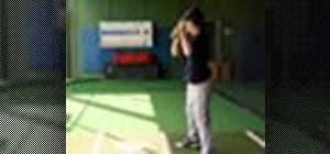 Practice the thunderstick drill in baseball