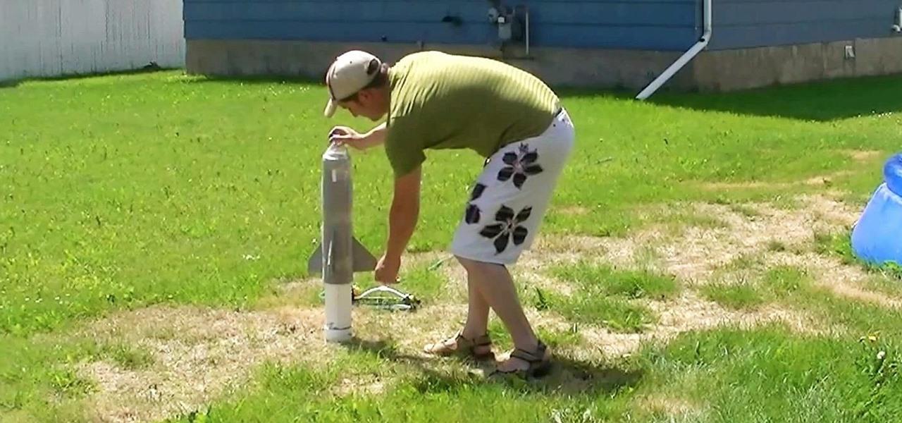 Make a Homemade PVC Rocket