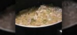 Make homemade chicken and dumplings