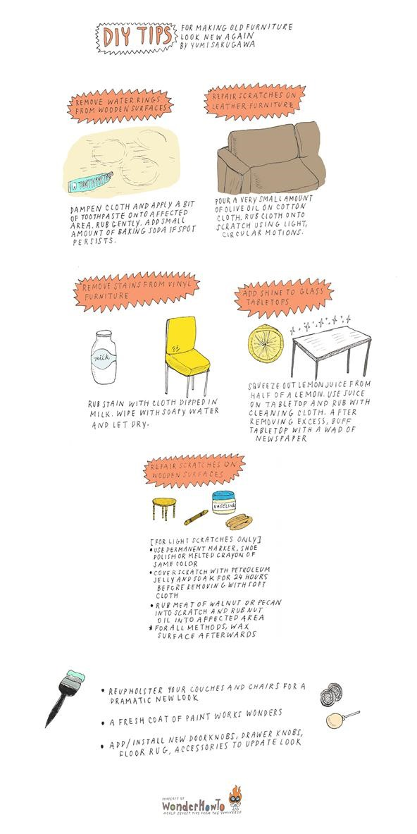 DIY Tips For Restoring Your Old, Beat Up Furniture