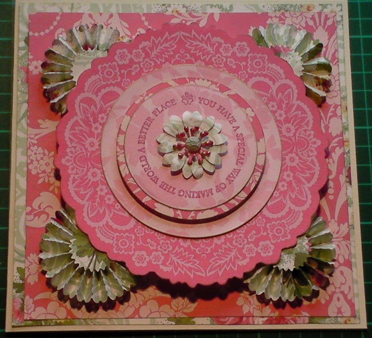 How to Make: Anna Griffin Nifty Layers Doily Card