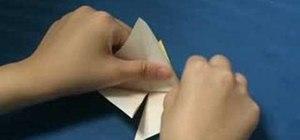 Origami a nice paper crane