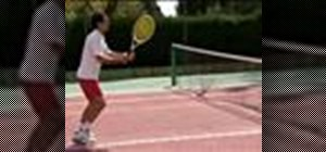 Improve your child's tennis technique