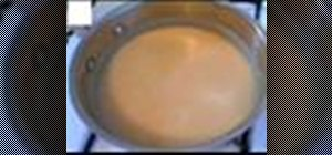 Make chicken gravy
