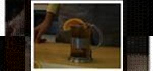Prepare Ethiopian tea