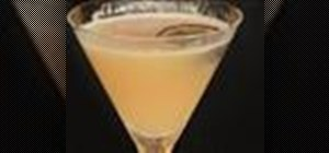 Make a Passion Fruit Martini cocktail