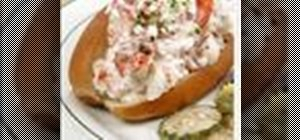 Prepare lobster rolls