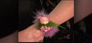 Make a feather anklet