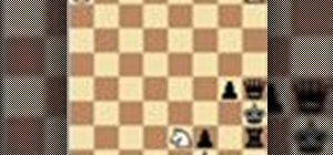 Solve chess problem mate in 2 moves