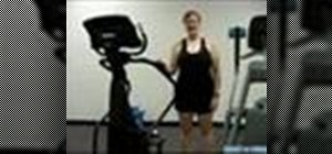 Use a stair master machine