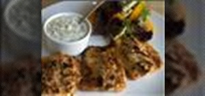 Make grilled fish with tartar sauce