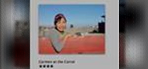Add titles, descriptions and keywords in iPhoto '08