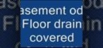 How to Fix odor from a basement floor drain