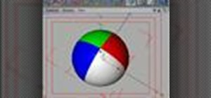 Create a beachball material in CINEMA 4D