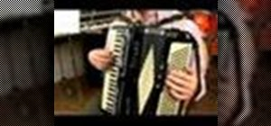 Play the accordion in E Major