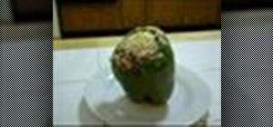 Makestuffed green peppers