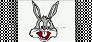 DrawBugs Bunny cartoon