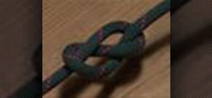 Tie a figure eight knot