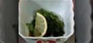 PrepareJapanesesunomono (cucumber salad)