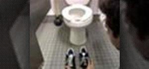 Pull off the office bathroom prank