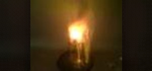 Make an explosive shower with thermite