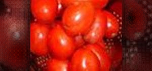 Make a toasted roma tomato salsa