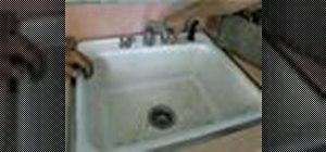 Repair faucets and drains