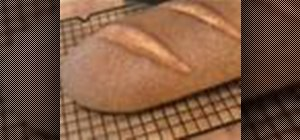 Bake sourdough bread with homemade wheat yeast