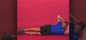 Exercise with the side bending lying on side