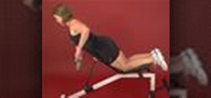 Exercise with incline rear shoulder dumbbell row bench