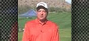Correct golf ball position