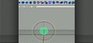Animate a bouncing ball in Maya